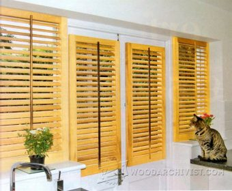 3355-Making Wooden Window Shutters