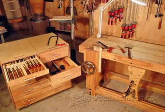 3358-Rolling Tool Cabinet Plans