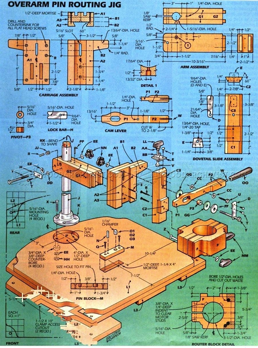 Pin Router Plans