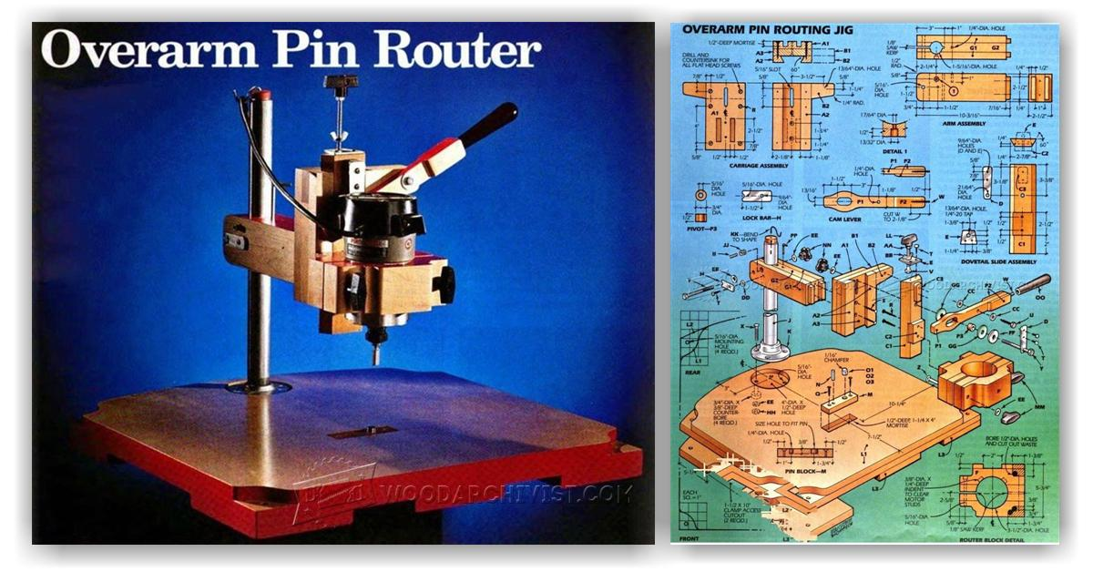 Pin Router Plans Woodarchivist