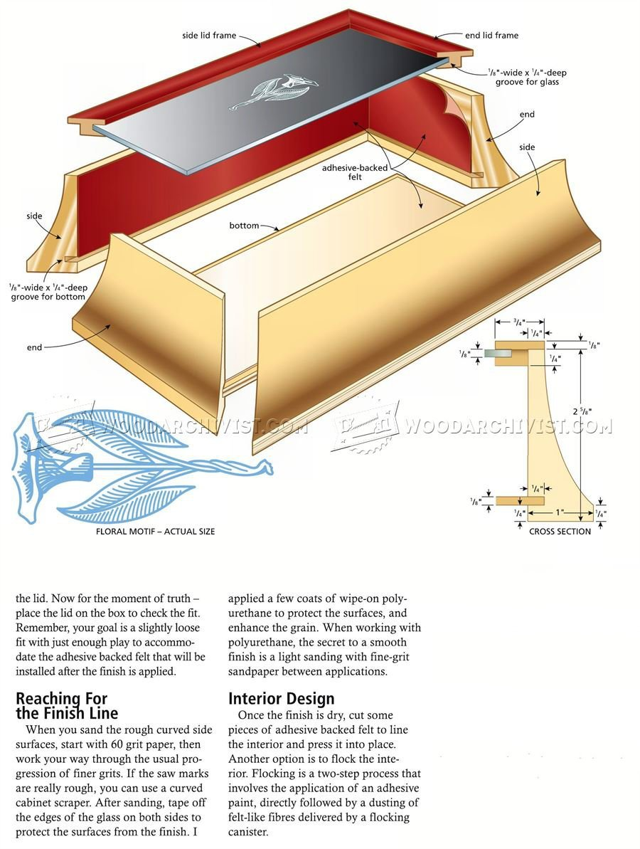 Curved Box Plans