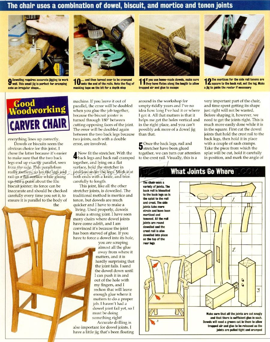 Carver Chair Plans