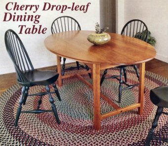 3369-Drop Leaf Dining Table Plans