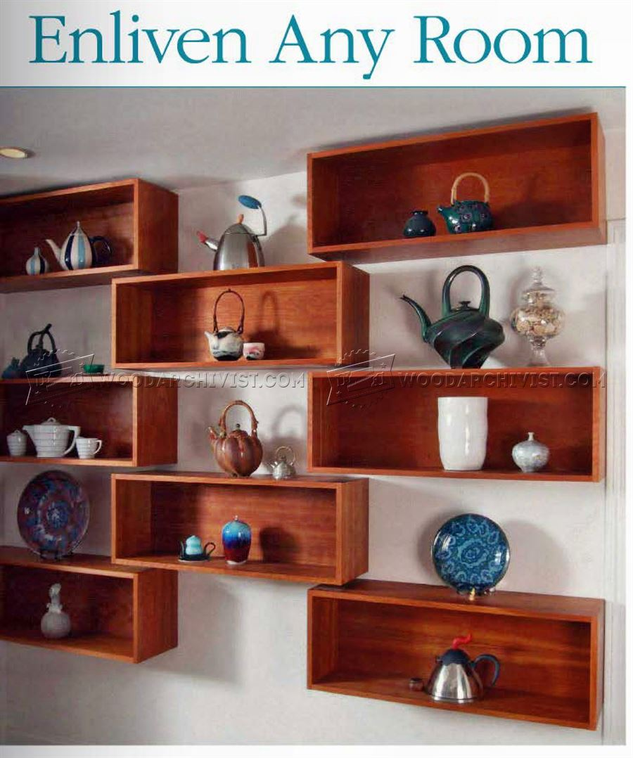 Wall Shelves Plans