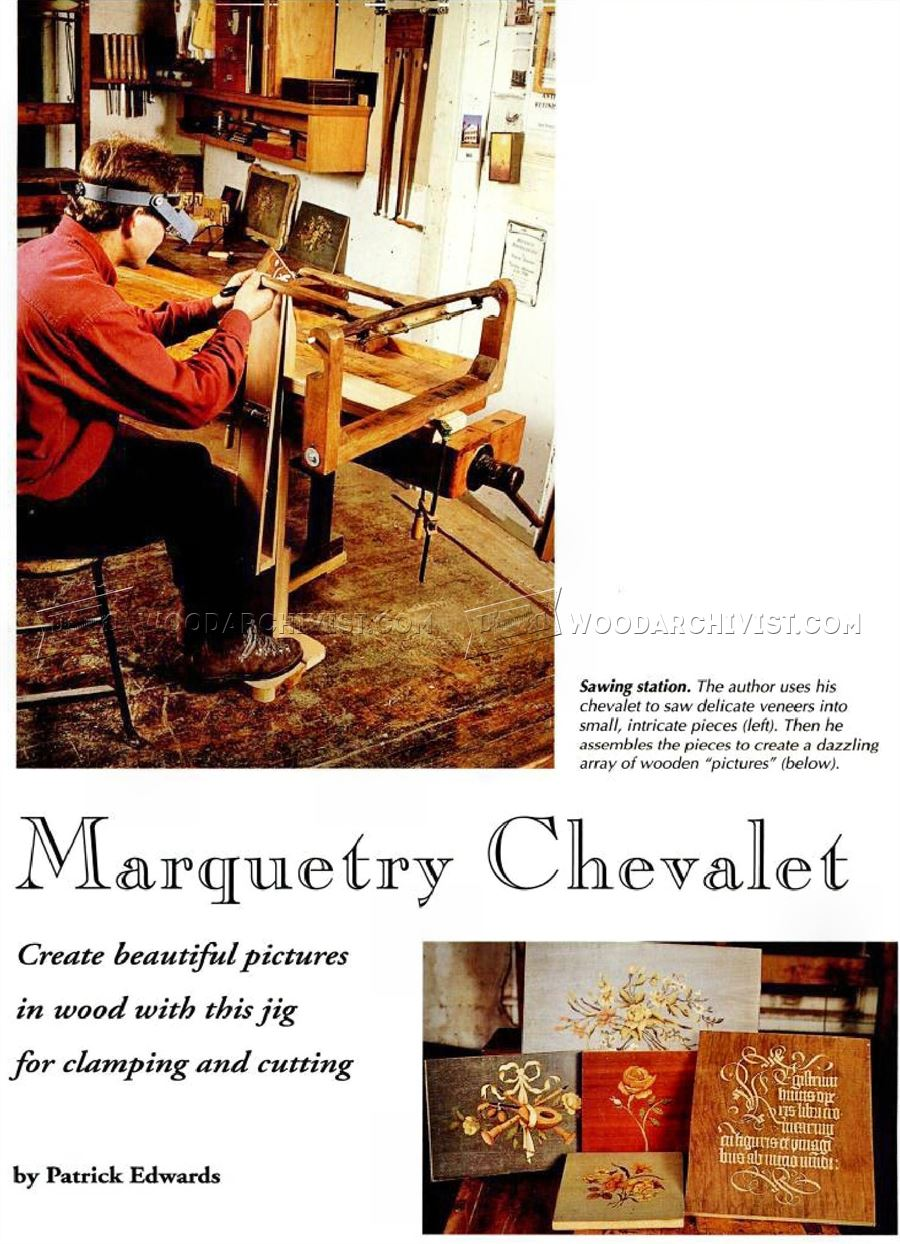 Marquetry Chevalet Plans