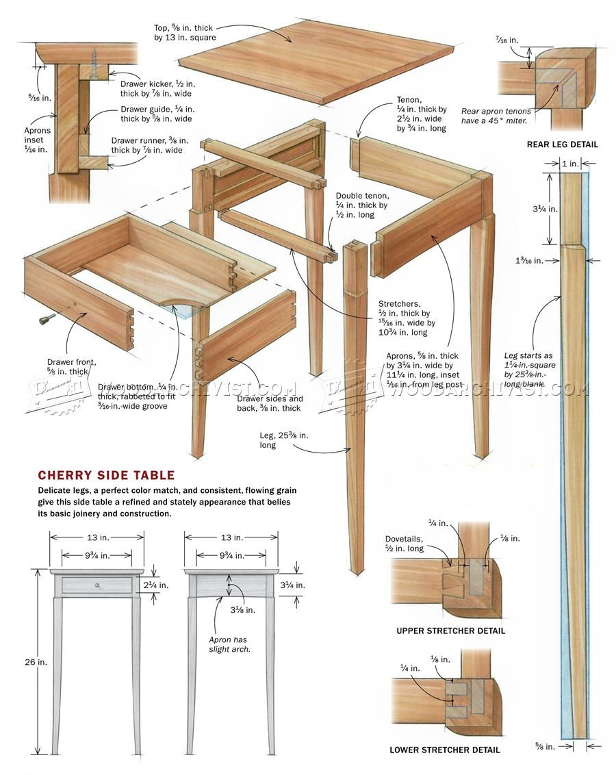 Build Side Table