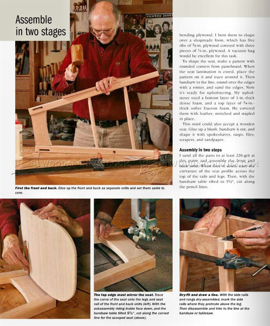 Build Kitchen Stool