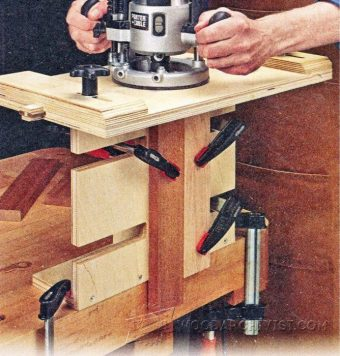 3384-Plunge Router Mortising Jig