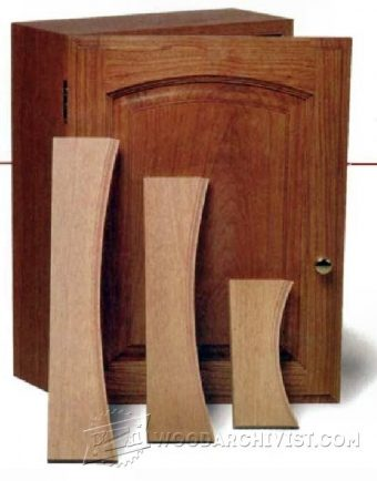 3389-Making Arched Cabinet Doors