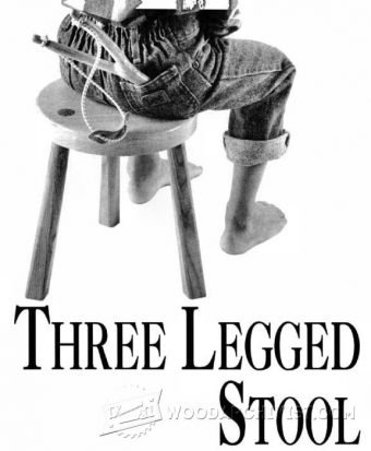 3390-Three Legged Stool Plans