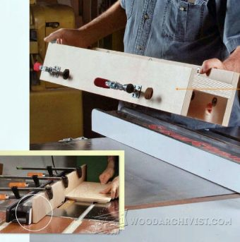 3391-Table Saw Rip Fence Jig