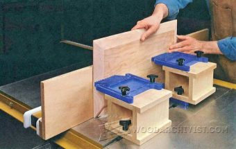 3393-Featherboard Risers