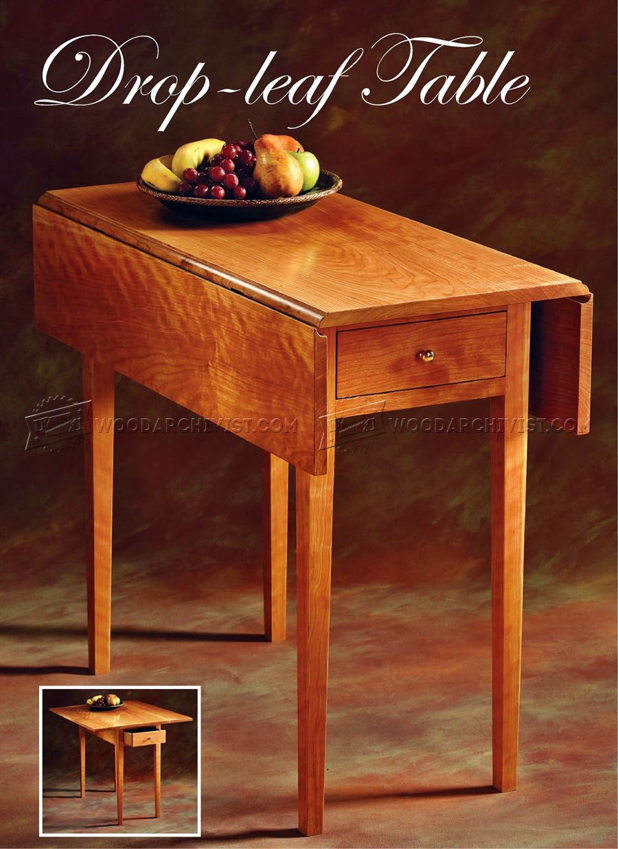 Drop Leaf Table Plans