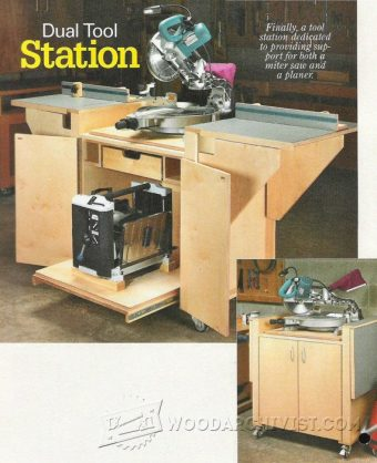 3397-Build Miter Saw Station