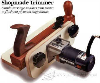 3400-DIY Edge Banding Trimmer