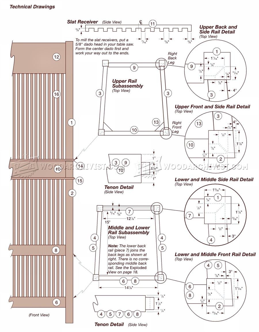 Wooden Bar Stool Plans Woodarchivist