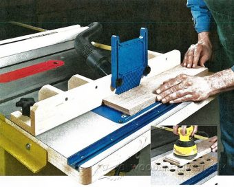 3406-Table Saw Router Table Plans