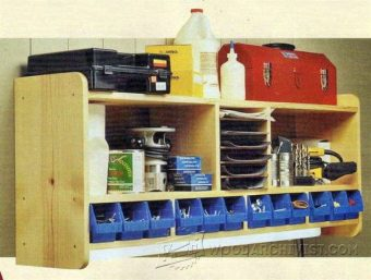3407-Workshop Shelves Plans