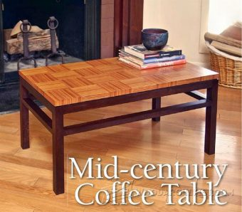 3408-Coffee Table Plans
