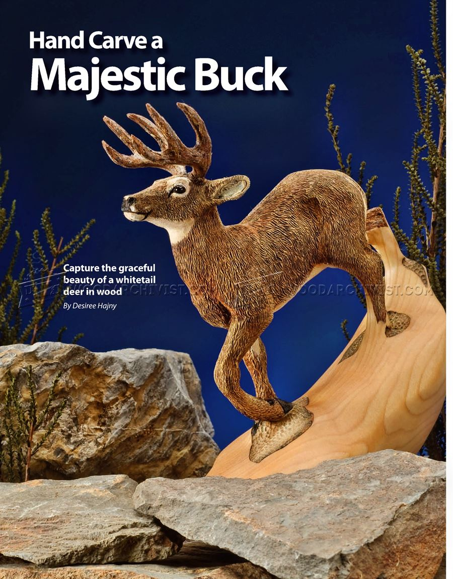 Carving Majestic Buck