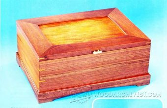 3427-Mitered Jewelry Box Plans