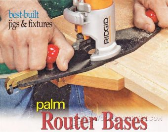 3429-DIY Palm Router Bases