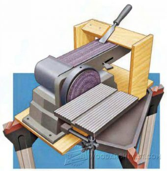 3431-Belt Sander Sharpening Jig