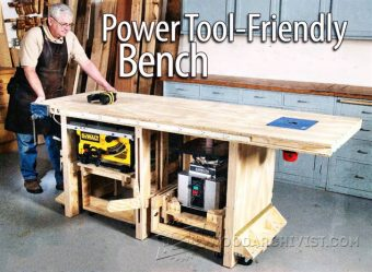 3449-Tool Bench Plans