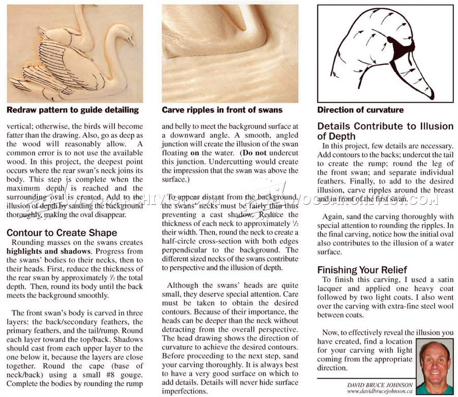 Relief carving techniques woodarchivist