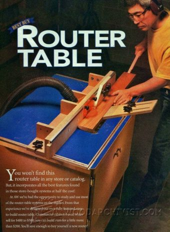 3458-Homemade Router Table