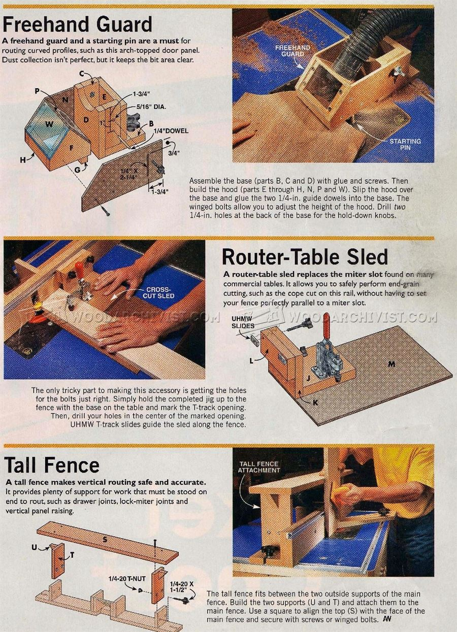 Homemade Router Table Woodarchivist