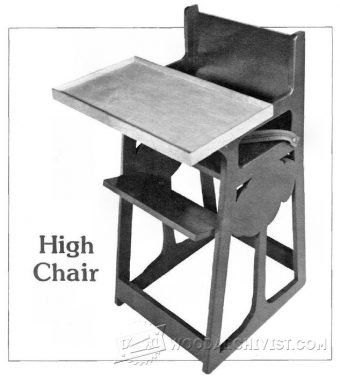 3461-DIY High Chair