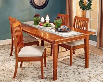extendable dining table plans woodarchivist
