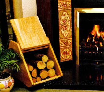 3466-Fireside Log Box Plans
