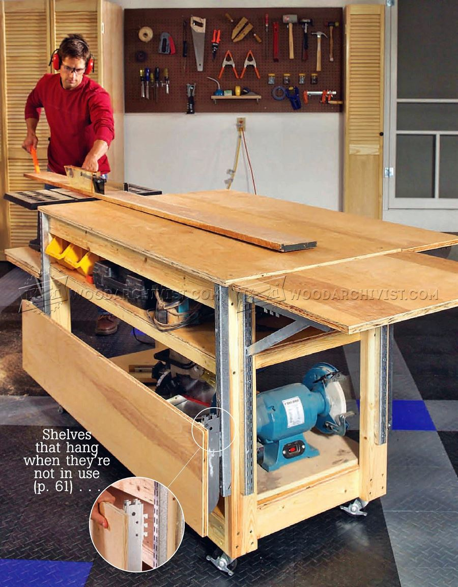 Mobile Workbench Plans