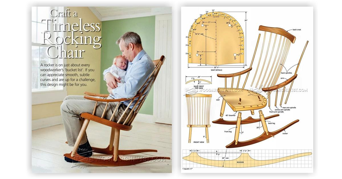 Wooden Rocking Chair Plans Inspirations ~ Home & Interior ...