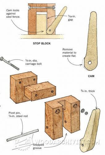 3474-Quick-Locking Stop Block