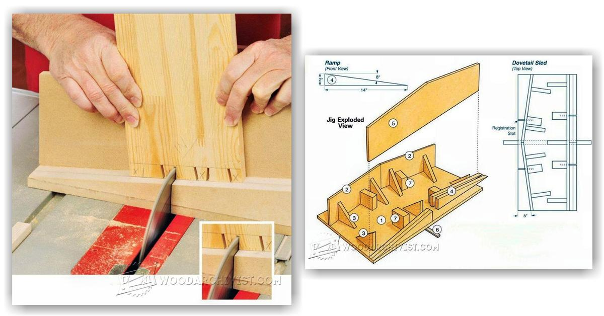 Groovy Table Saw Dovetail Sled Woodarchivist Download Free Architecture Designs Scobabritishbridgeorg