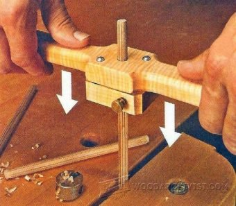 3486-Grooving Jig for Dowels