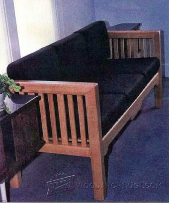 3488-Knock Down Couch Plans