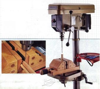 3497-DIY Drill Press Vise