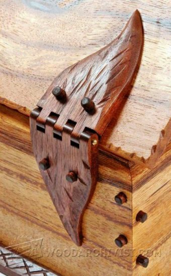 3507-Wooden Box Hinges