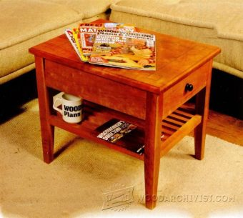 3510-Magazine Table Plans