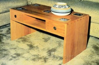 3514-Coffee Table Plans
