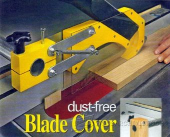 3519-Table Saw Dust Collection Guard