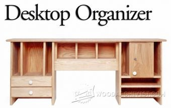 3521-Desktop Organizer Plans
