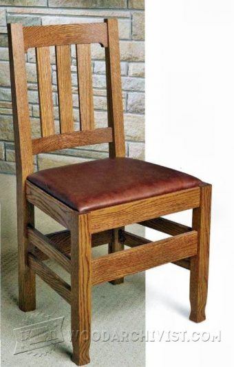 3524-Dining  Room Chair Plans