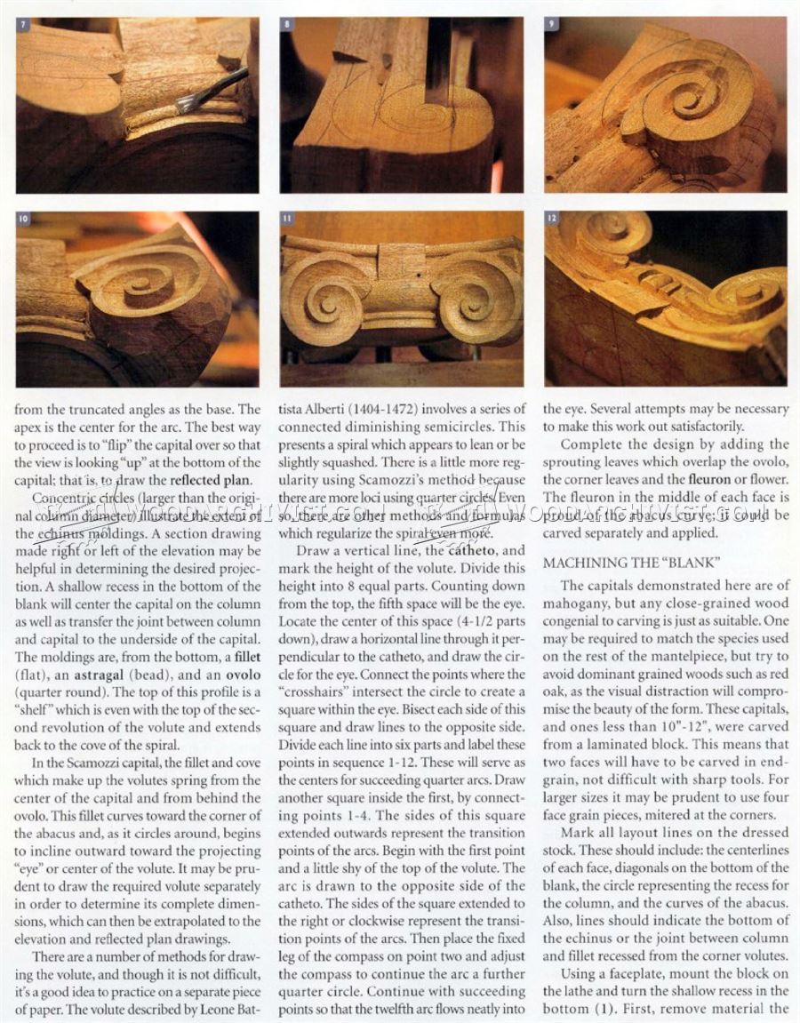 Carving Capitals