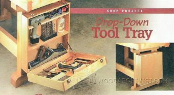 3539-Workbench Tool Tray Plans