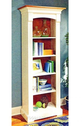 3542-Tower Bookcase Plans